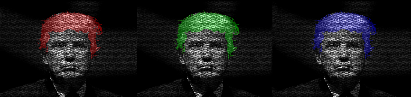 the trump files digital print artwork